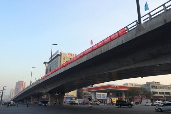 太原学府街今日正式通车 从滨河东路可开车进入